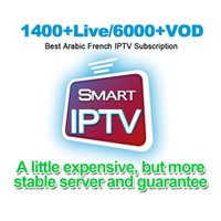 Wholesale arabic iptv subscription online - 2019 IPTV France Arabic Full Europe India Africa Channels iptv account support Smart tv android box phones mag IPTV subscription