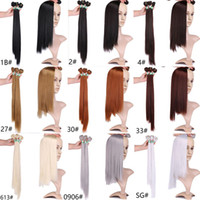 high quality hair weave silky straight Fiber 1b 99j brown red color High Temperature Synthetic Hair weft bundles Hair Extension