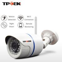 Wholesale security camera onvif poe resale online - Hd p Ip Camera Outdoor Wifi Home Security Camera p p Wireless Surveillance Wi Fi Bullet Waterproof Ip Onvif Camara Cam T190705