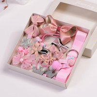 Wholesale led party accessories online - WeLove_ Children s Hair Accessories Set Princess Lady Girl Baby Headband Hairpin Baby Hairpin Hair Lead Jewelry WPH0026
