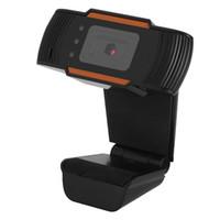 éclairage caméra pc achat en gros de-Webcam caméra Web HD 12.0M Pixel Webcam HD avec mise au point automatique du microphone 3 lumières DEL pour utilisation nocturne