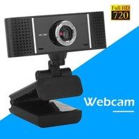 Wholesale hot microphones resale online - Hot HD Video Recording P USB Camera Computer Laptop Webcams for Live Rotatable Webcam with Microphone for Laptop PC Computer