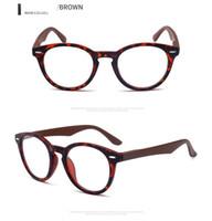 moda óculos de leitura mulheres venda por atacado-Atacado moda barata óculos de leitura designer de óculos redondos óculos de leitura de plástico para as mulheres e homem força de ampliação 1.00 2.00 3.50