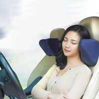 Wholesale side sleeping pillows for sale - Group buy Car Seat Neck Pillow Auto Headrest Support Pillow U Shaped Memory Foam Sleep Side Head Cushion Support Headrest