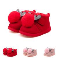 venda de botas para crianças venda por atacado-Bebê Crianças Quente Meninos Meninas Dos Desenhos Animados Sneaker Botas De Neve Do Bebê Primeiro Walker Sapatos de inverno sapatos botas Nova Chegada Venda Quente