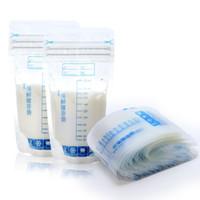 uygun yiyecek toptan satış-30 Adet 250 ml Anne Sütü Saklama Çantası Bebek Gıda Depolama Pratik Ve Uygun Anne Süt Dondurucu Güvenli Çanta