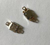 mini jak bağlantı pimleri toptan satış-100 adet / grup mikro mini jack USB Amazon Kindle Yangın 7th için Şarj Soket Portu Konektörü Gen SR043KL 5 pins
