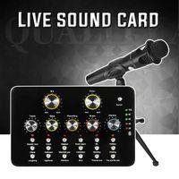 micrófonos de transmisión al por mayor-Profesional E300 Condensador Micrófono de mano V10 Tarjeta de sonido con soporte para computadora Estudio Grabación vocal Karaoke para transmisión en vivo