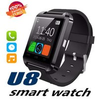 Wholesale big phones for for sale - Group buy Bluetooth Smart Watch Men u8 With Touch Screen Big Battery Support TF Sim Card Camera for Android Phone Smartwatch