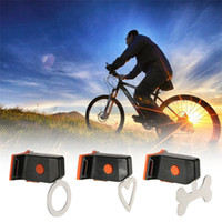 Wholesale bicycle safety accessories resale online - LED Bicycle Lights Bike USB Charging Heart Shaped Round Triangle Warning Lamp Creative Safety Equipment Accessories Taillight ybD1