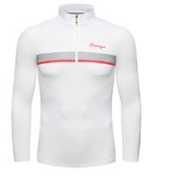грунтовка оптовых-Мужская одежда для гольфа, летняя солнцезащитная одежда, грунтовка для мужчин из шелкового льда, быстросохнущая одежда