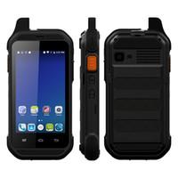 soporte de tarjeta sim wcdma al por mayor-UNIWA T401 IP54 impermeable Barra de teléfono desbloqueada 2G Ram 16G Rom compatible con tarjeta TF de hasta 32 GB Pantalla táctil de 4.0 pulgadas Teléfono móvil