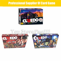 Wholesale figures toys harry potter for sale - Cluedo harry potter Board Game Action Figures Collector s Edition Brand New Sealed Set Witchcraft Game Collection Cards Kit Toy