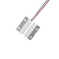 alarmas de puerta de contacto magnético al por mayor-Interruptor de la puerta enrollable Sensor de la puerta magnética Seguridad para el hogar Contacto Sistema de alarma Accesorios Centro comercial accesorios del sistema de monitoreo