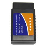 ingrosso migliori scanner-Analizzatore dell'automobile automobilistico diagnostico di Wi-Fi OBD Elm327 con il migliore chip Elm327 Wifi OBD adatto a IOS Android / iPhone Windows
