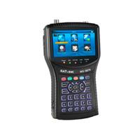 dvb s2 finder großhandel-WS-6979 Sat Finder DVB-S2DVB-T2 Digitales Spektrum MER Satellit Finder Spectrum Analyzer WS6979