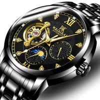 relojes de pulsera de superficie al por mayor-relojes de pulsera relojes de lujo para hombre relojes de diseño Reloj de pulsera Low Hill Free Wheel Mecánica totalmente automática Surface NE1032