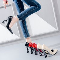 6003ca993cb Wholesale sexy high heels for sale - Group buy 2019 Wedding Bridal Shoes  Unique Heels Brand
