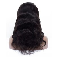 Wholesale style chinese knot resale online - Fashion Natural Star Style Real People Shine Smooth And Smooth Knotted Black Long Hair Can Be Made To Bend Half Lace Headgea