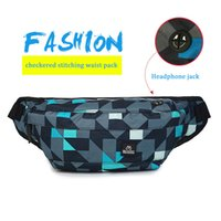 Wholesale nylon male package for sale - Group buy Outdoor Pockets Male Chest bag Running Sports Music Package Travel Anti Theft Travel Wallet