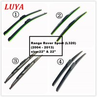 Wholesale range rover sports resale online - LUYA Four kinds of wiper Blade in Car windshield wiper For Range Rover Sport L320 size quot quot