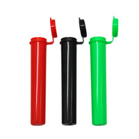 limoflaschen großhandel-1200er Pack 98 mm Doob stumpfe Verbindungsrohr Leere Squeeze Pop Top Flasche vorgerollte Rohre Vorratsbehälter UPS FEDEX Kostenloser Versand