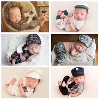 Wholesale newborn sports clothes resale online - Newborn Baby Boy Photography Props Sport Clothes Infant fotoshooting Outfits Baby Photoshoot Outfits fotografia Accessory