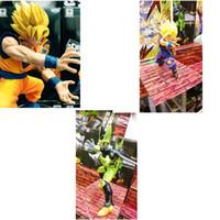 Wholesale gohan action figures resale online - Son Gohan Action Figure SonGoku Figma Dragon Ball Cell Figures For Kid Boy Girl Anime Characters Popular jx D1