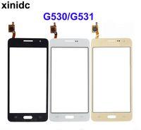 toque samsung prime al por mayor-Pantalla táctil xinidc para Samsung Galaxy Grand Prime G531F SM-G531F G530H G531 G530 Pantalla táctil Sensor Pantalla Cristal digitalizador