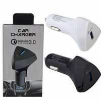 5v 1.5a power adapter 2021 - car charger Quick Charging Auto power adapter car charger 5V 3A 9V 2A 12V 1.5A Chargers for ipad iphone 7 8 Samsung s7 s8 gps mp3 with box