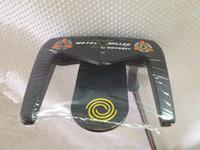 marcas de putters de golfe venda por atacado-Brand New ODS Metal X # 7 Putter ODS Metal X Golf Putter Tacos de Golfe 33/34/35 Polegada Eixo de Aço Com Tampa Da Cabeça