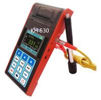 leeb tester venda por atacado-KH-530 Tela Colorida de Impressão Digital Portátil Leeb Dureza Tester Alta Precisão Melhor Qualidade FRETE GRÁTIS