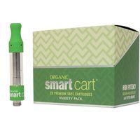 pointe en caoutchouc stylo achat en gros de-Smart Cart Vape Cartouches 1.0ml Réservoir En Verre En Céramique Vert Pointe Atomiseurs En Caoutchouc Avec Forfaits Saveur Pour Smartcart Vape Pen