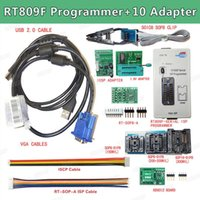 Wholesale module programmer resale online - 2019 Newest RT809F LCD Display ISP Programmer Module With SOP8 Test Clip V Adapter TSSOP8 SSOP8 Adapter EDID read line