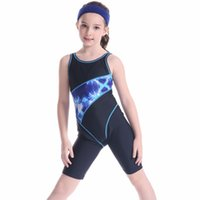 d514a7a0b1 Pool Arena competition Girl 2019 Swimsuit One Piece Swimwear Child Bodysuit Swim  Bathing Suit Kids Beach Wear Bikinis Set Blue