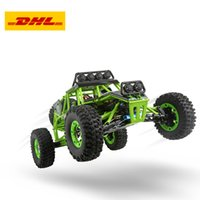 Wholesale h led lights resale online - 12428 Rc Car km H Wd g High Speed Rc Off Road Car With Led Light Rtr