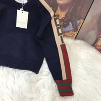 Wholesale garters sale for sale - Group buy Hot Sale Boy Sweater Autumn Brand Design Wool Knitted Pullover Cardigan For Baby Girls Children Clothes Kids Infant Top babys_dress