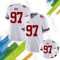 american football 13 großhandel-4ncaa 7 Dwayne Ohio State Rosskastanien American College Football Wear 7 Dwayne Haskins Jr. 97 Nick Bosa 13 Tua Tagovailoa 13 Tua Tagovailoa