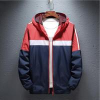 ünlü markalı ceket toptan satış-erkek tasarımcı windcoat marka Ünlü hoodies Erkekler Ceket Bahar Ceket Spor Kalça Açık Suya WINDBREAKER Erkekler Coat Trend Marka Hop
