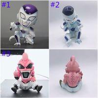 figura de majin buu al por mayor-12 cm Dragon Ball Z Majin Buu Majin Boo Figura de acción PVC juguetes colección muñeca modelo animado de dibujos animados figura de juguete C11