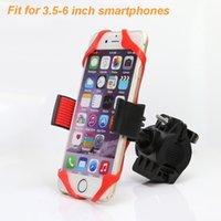 крепление подставки для клипсов оптовых-360 Вращение Велосипед Держатель Телефона Для Huawei iPhone Samsung Универсальный Держатель Мобильного Телефона Велосипед Руль Клип Стенд GPS Mount # 381361