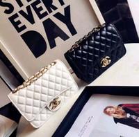 nueva bolsa corea al por mayor-Celebrity designer Xiaoxiangfeng nuevo bolso para mujer Japón y Corea del Sur bolso pequeño cuadrado Lingge mini bandolera de hombro