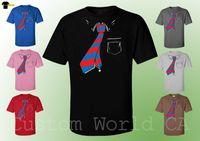 imágenes de pajarita al por mayor-Imagen de corbata de lazo Diseño lindo para hombre Camisas Nuevo diseño Moda Camiseta Ropa Fresco Casual orgullo camiseta hombres