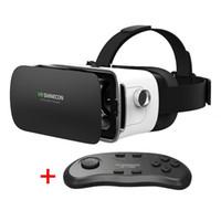 auriculares 3d al por mayor-Gafas de realidad virtual virtual 3D Gafas para juegos VR para la reproducción de video y audio en teléfonos celulares