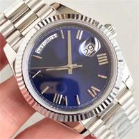 quality großhandel-Luxus Herrenuhren mit Datum 41mm hochwertige automatische mechanische Designer Herrenuhr aus Edelstahl Montre Armbanduhren