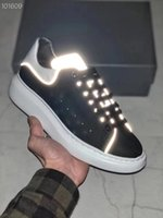 Wholesale mens wedding sneakers for sale - Group buy 2019 Luxury Designer Men Casual Shoes Cheap Best Mens Womens Fashion Sneakers Party Wedding Lighted Shoes Sneakers Tennis