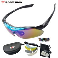 Wholesale racing bicycle goggles resale online - ROBESBON MTB Bicycle Glasses Riding Bike Sports Eyewear Racing Glasses Men Women Goggle Polarized Oculos Cycling