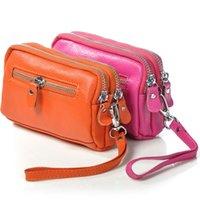 большие телефоны оптовых- New Wristband Women Wallet Female Long Zipper Women Coin Purse Large Capacity Coin Wallet Purse Fashion Phone Clutch Bag