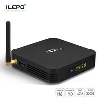 Wholesale facebook support for sale – best Android TX6 TV Box With H6 Quad core GB GB Streaming Media Player Support G G Wifi BT5