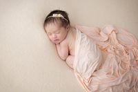 elastik havlu toptan satış-Elastik bebek fotoğrafçılığı için sarma bebek yenidoğan bebek fotoğraf çekmek saf düz renk bez paspaslar 150 * 45 cm havlu